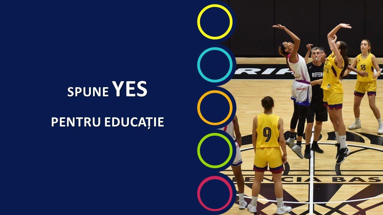 Tabere de basket pentru copii si tineri.